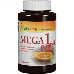 VitaKing Mega-1 Family multivitamin [120 db]