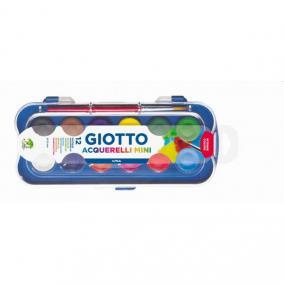 Vízfesték 12/klt Giotto Fila kis gombos 23mm
