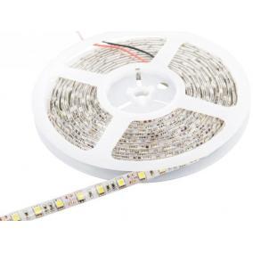 Whitenergy LED szalag 5m SMD5050 60db/m 14.4W/m 12V 6500K vízálló hidegfehér, csatlakozó nélküli
