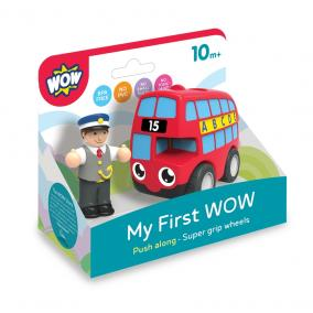WOW Első játékom - Basil, a piros busz