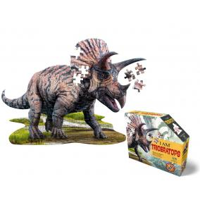 Wow Puzzle junior 100 db - Triceratops