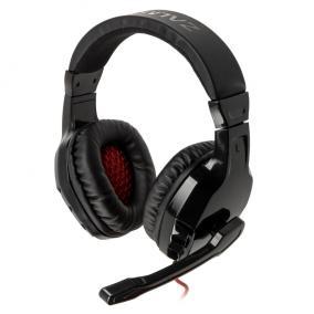 Zalman ZM-HPS300 mikrofonos fejhallgató, vezetékes, fekete