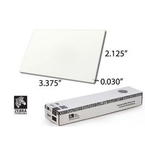 Zebra Premier PVC Card [Fehér] 30MIL [500 kártya] mágnescs.