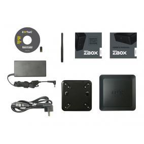 ZOTAC ZBOX-QK5P1000-BE ZOTAC ZBOX QK5P1000, i5-7200U, QUADRO P1000 4G, 2x DDR4 SODIMM, M2 SSD