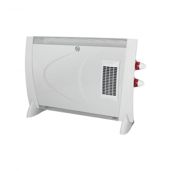 Konvektor fűtőtest ventilátorral, 2000 W - FK190