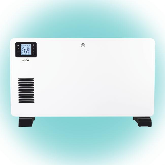Smart konvektor fűtőtest, 750/1250/2000W Wifi