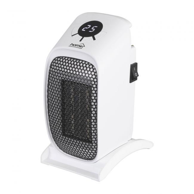 Hordozható mini kerámia fűtőtest, 400W