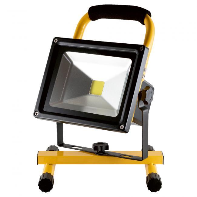 Újratölthető LED-es fényvető, 20W