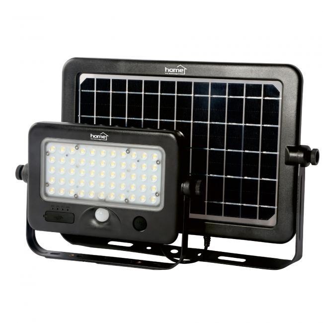 Szolár paneles LED reflektor, 55 led