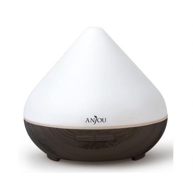 Aroma diffúzor, ultrahangos, LED fénnyel, ANJOU