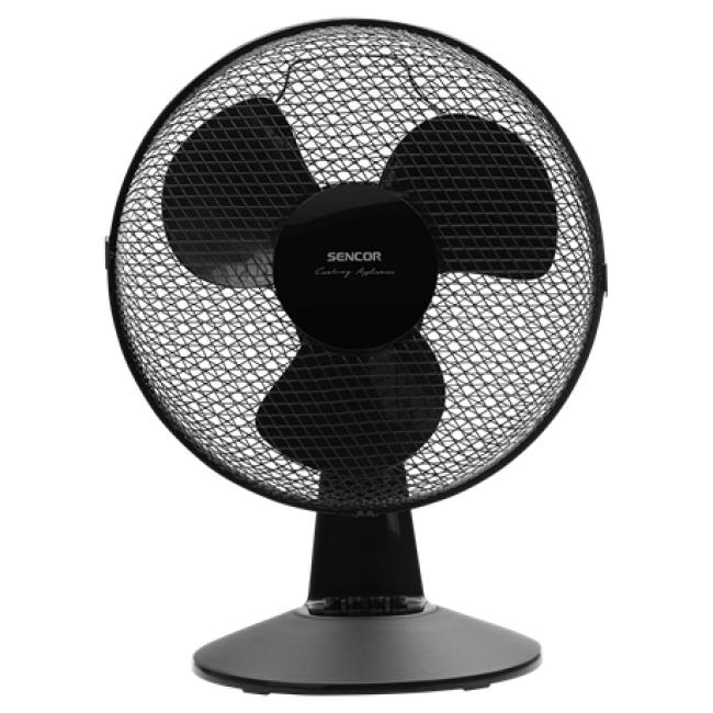 Asztali ventilátor 30cm - Sencor, SFE3011BK