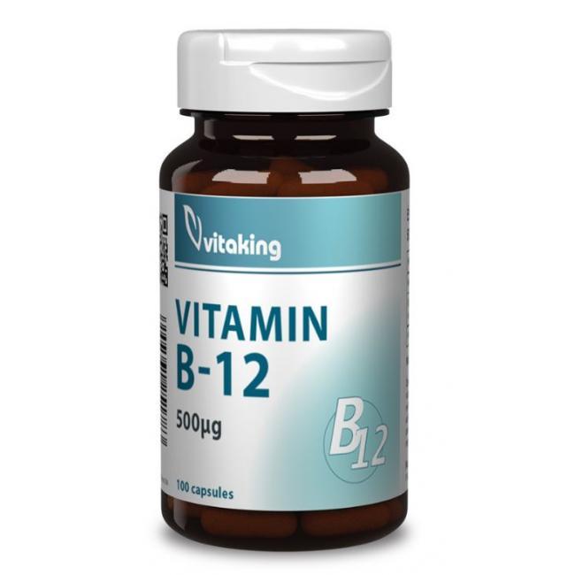 Vitaking Vitamin B12 500mg kapszula [100 db]