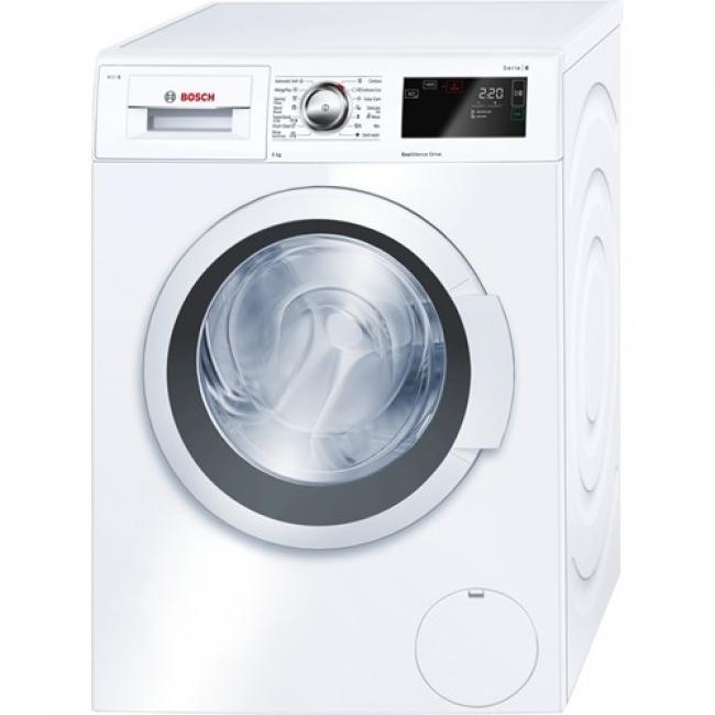 520e9f064c Bosch - WAT28660BY Elöltöltős mosógép - Serie6, 9kg, A+++, 1400 fordperc,  Prémium kjlező