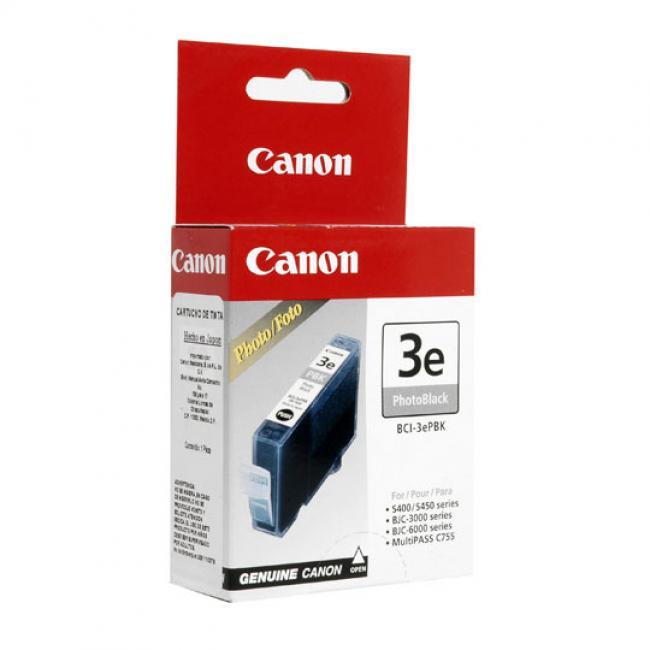 Canon BCI-3e [PBK] tintapatron (eredeti, új)