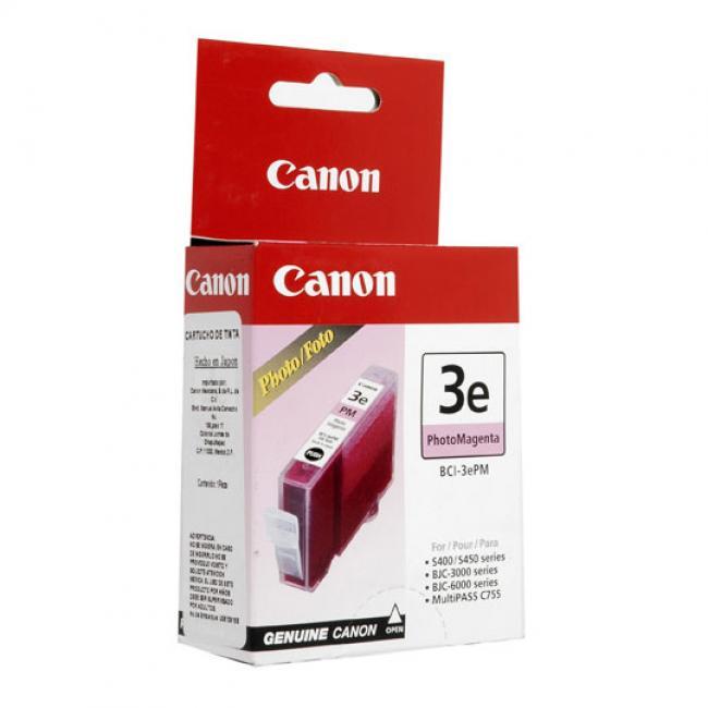 Canon BCI-3e [PM] tintapatron (eredeti, új)