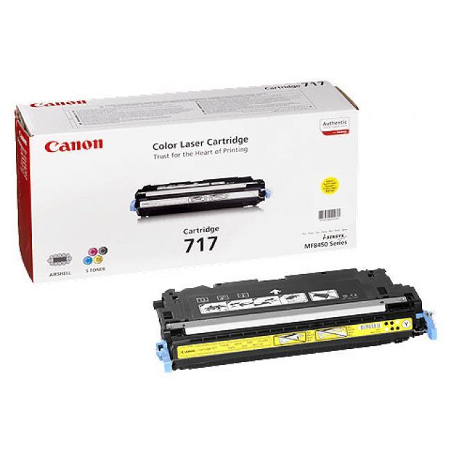 Canon CRG 717 [Y] toner (eredeti, új)