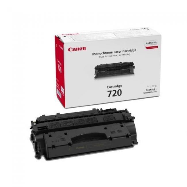 Canon CRG 720 [BK] toner (eredeti, új)