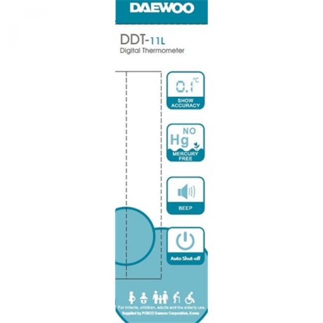Digitális lázmérő - Daewoo, DDT-11L