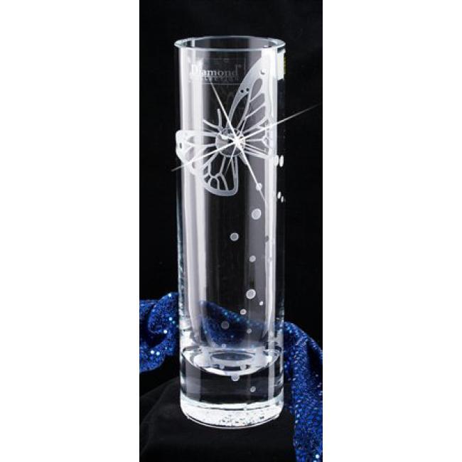 Váza, üveg, 19,5 cm, LORENTINA, Crystals from SWAROVSKI®