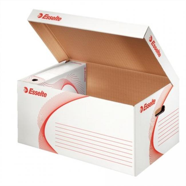 Archiváló konténer, karton, felfelé nyíló, ESSELTE