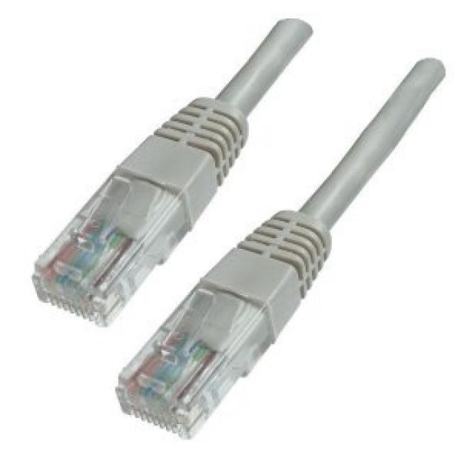 Hálózati kábel, U/UTP, CAT6, 20 m, EQUIP, bézs
