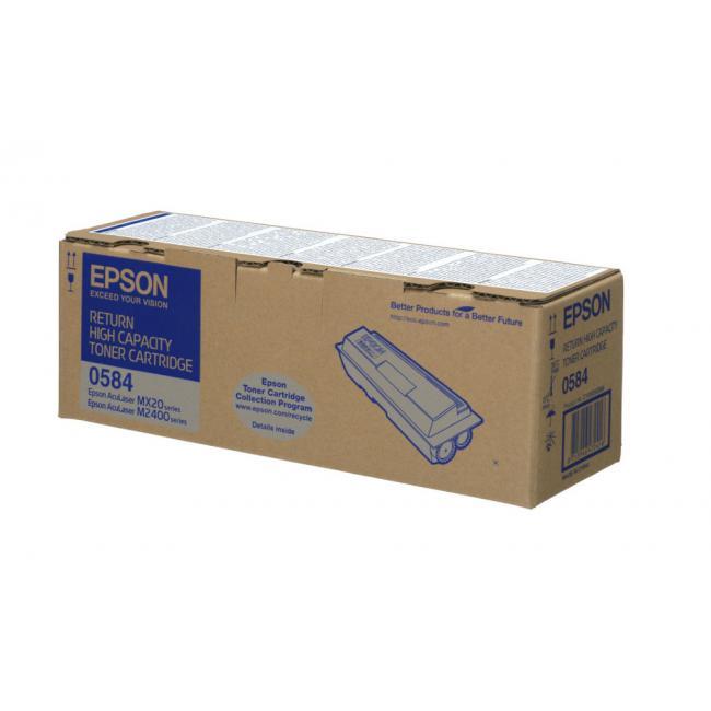 Epson M2400 toner 8K #S050584 (eredeti, új)