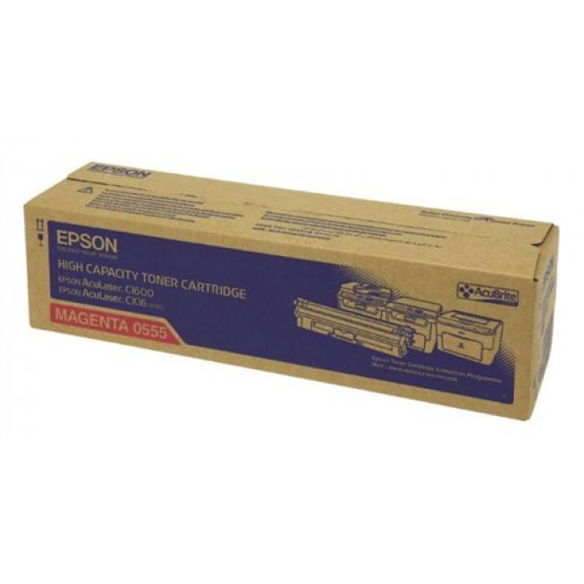 Epson C1600, CX16 [M] 2,7K #C13S050555 - (eredeti, új)