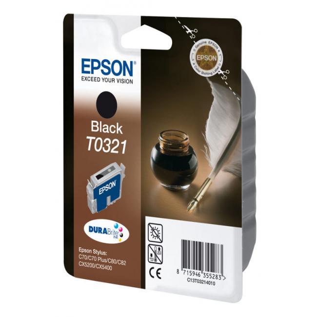 Epson T032140 [BK] tintapatron (eredeti, új)
