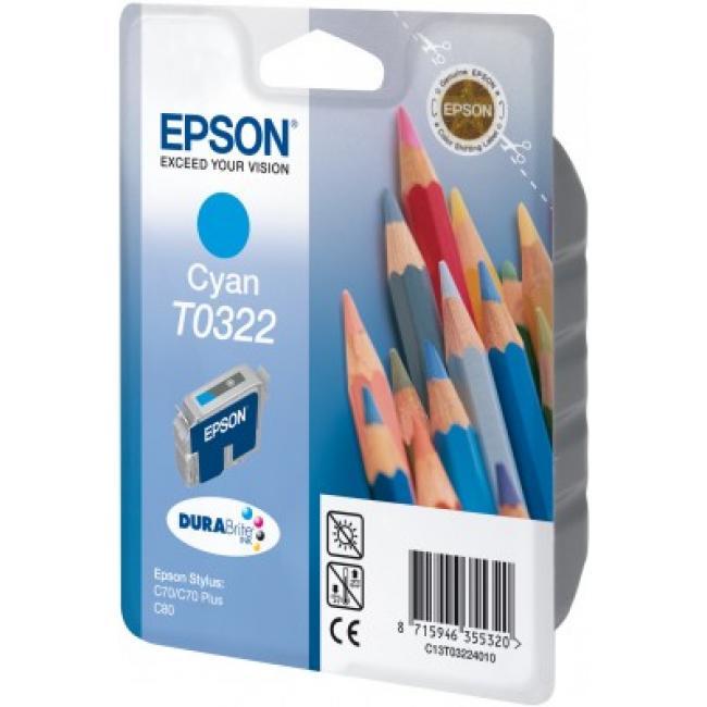 Epson T032240 [C] tintapatron (eredeti, új)