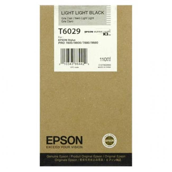 Epson T602900 [LLBK] tintapatron (eredeti, új)