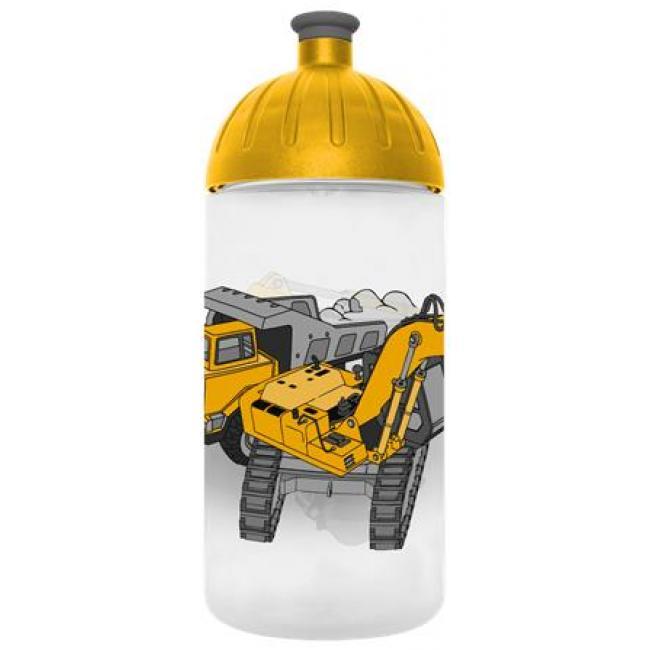 Kulacs, higiénikus műanyagból, 0,5L, FREEWATER,