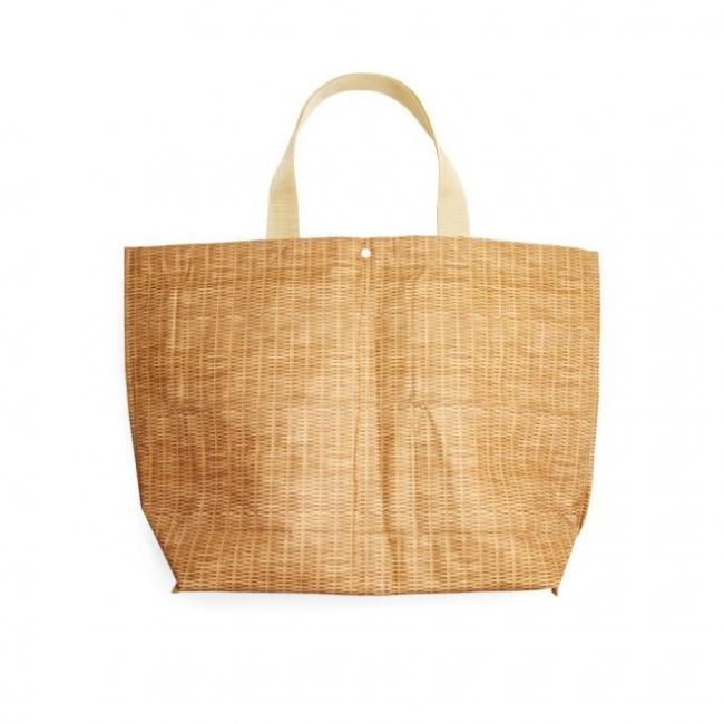 Fonott mintájú táska, nagy