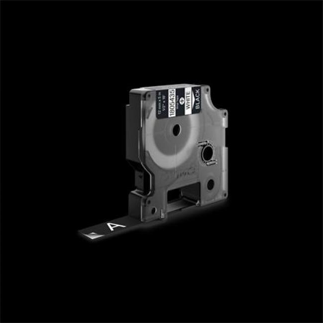 Feliratozógép szalag, vinil, 12 mm x 5,5 m, DYMO
