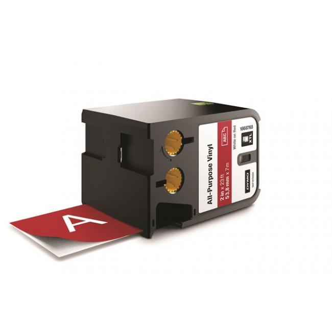 Feliratozógép szalag, vinil, 54 mm x 7 m, DYMO,