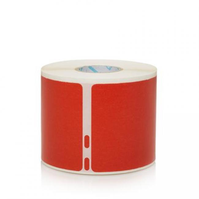 Etikett, LW nyomtatóhoz, 54x101 mm, 220 db etikett, DYMO, piros