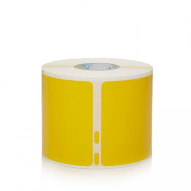 Etikett, LW nyomtatóhoz, 54x101 mm, 220 db etikett, DYMO, sárga