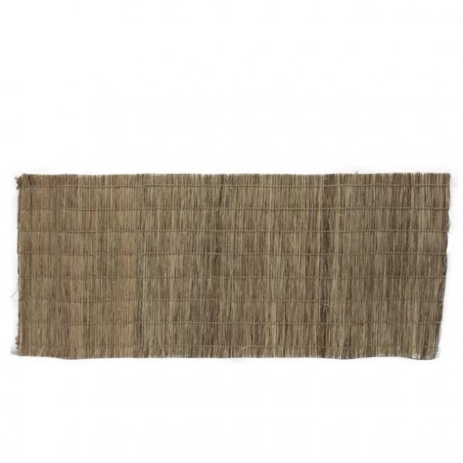 Gyékény szőnyeg 40x100cm natúr