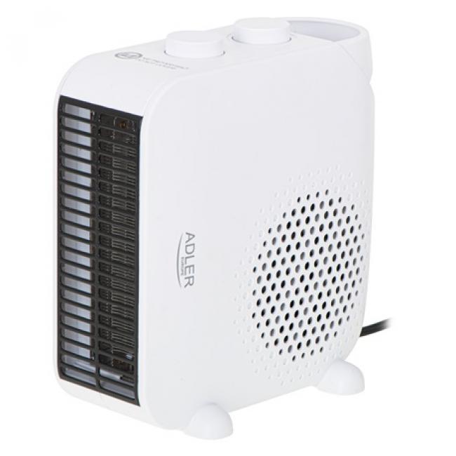 Hősugárzó fehér 1000/2000W - Adler, AD7725 WHITE