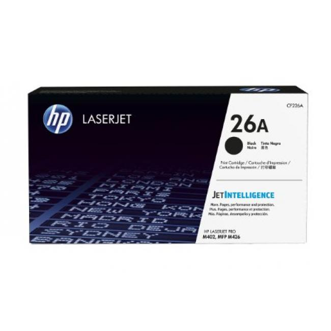 HP CF226A [BK] 3,1K #No.26A toner (eredeti, új)
