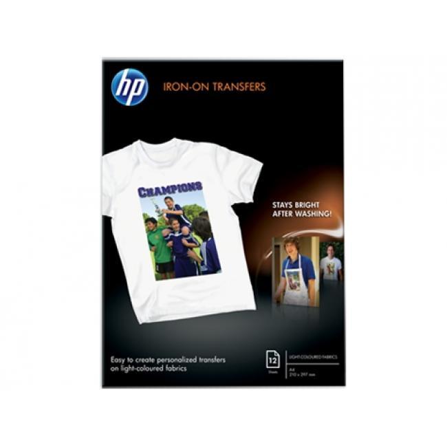 HP Tshirt - vasalható [A4 / 170g] 12db fotópapír #C6050A