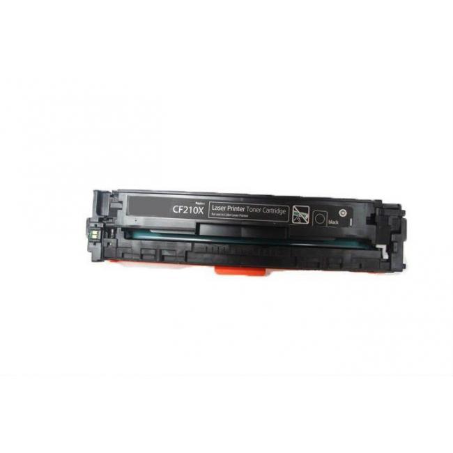 HP CF210X [BK] #No.131X kompatibilis toner [3 év garancia] (ForUse)