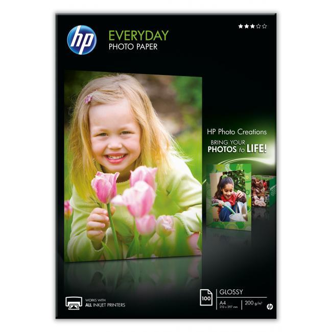 HP Semi-Glossy [A4 / 200g] 100db fotópapír #Q2510A
