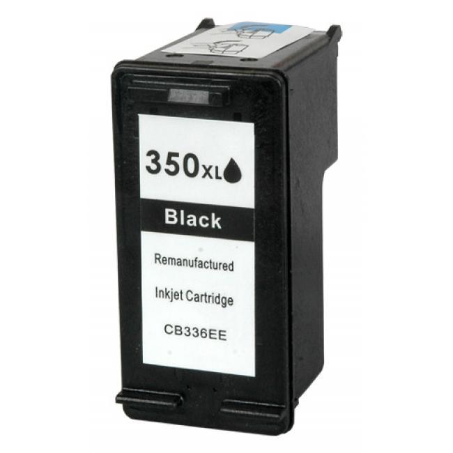 HP CB336E [BK] #No.350XL tintapatron (ForUse)