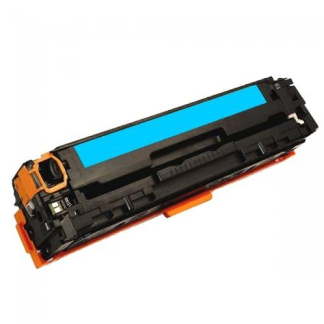 HP CB541A [C] #No.125A kompatibilis toner [3 év garancia] (ForUse)