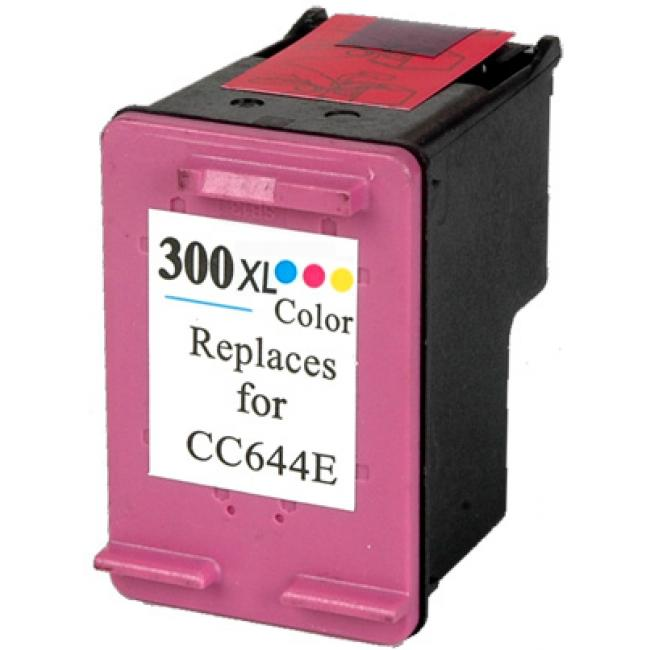HP CC644EE [Col XL] #No.300 kompatibilis tintapatron (ForUse)