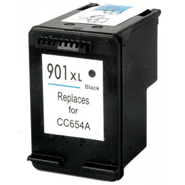 HP CC654AE [BK] #No.901 XL kompatibilis tintapatron (ForUse)