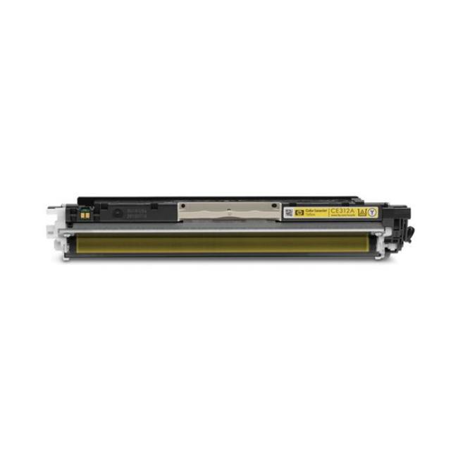 HP CE312A [Y] #No.126 kompatibilis toner [3 év garancia] (ForUse)