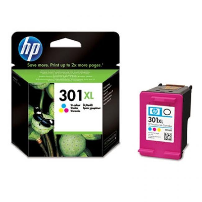 HP CH564EE [Col] #No.301 XL tintapatron (eredeti, új)