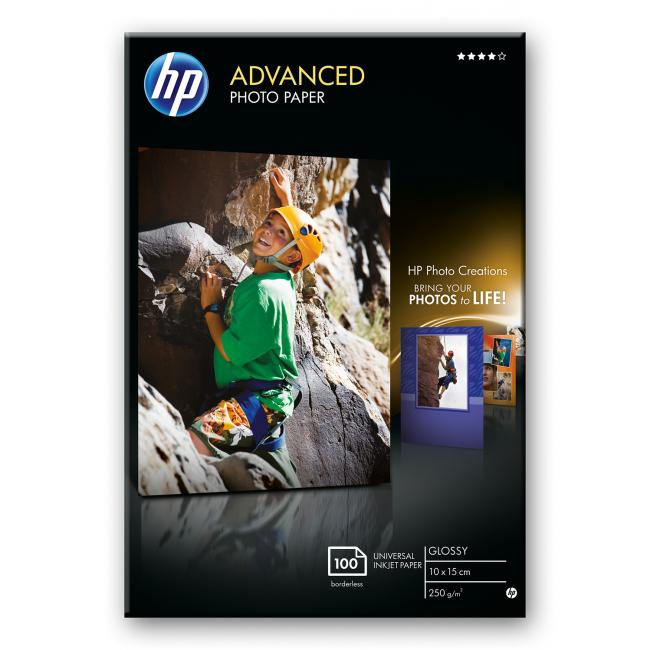 HP Glossy [A6 / 250g] 100db fotópapír #Q8692A