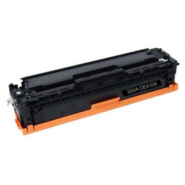 HP CE410X [BK] #No.305X kompatibilis toner 4k [3 év garancia] (ForUse)